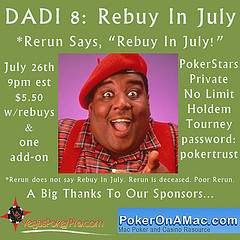 dadi8 rebuy in july