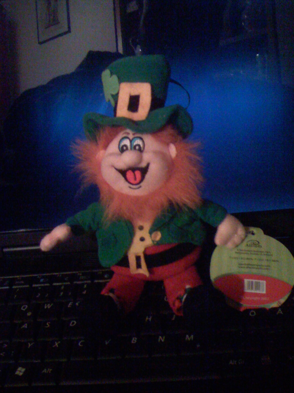 Finnegan the king of the leprechauns