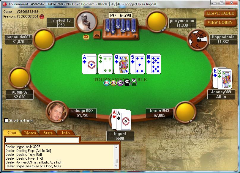 my day in poker