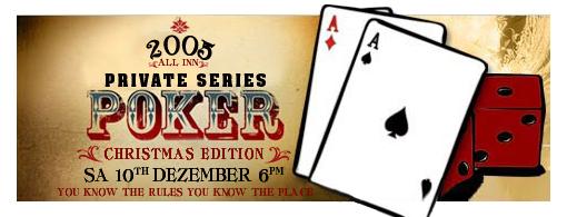 Private Poker Session