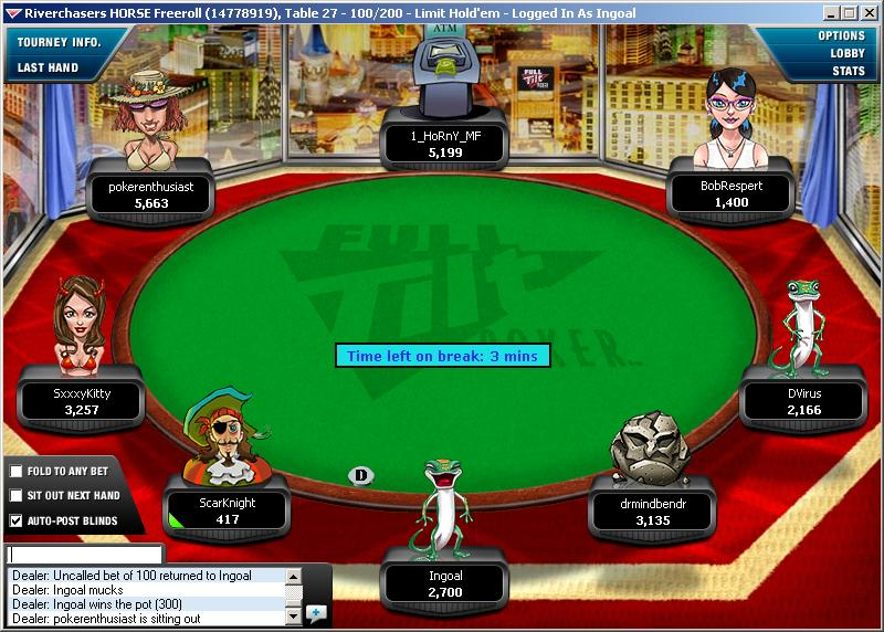 riverchasers horse freeroll
